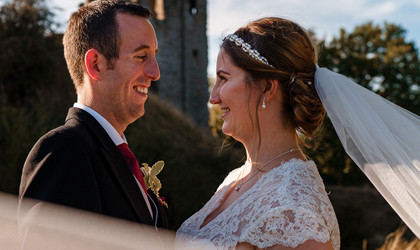 Stunning South Shropshire Country Wedding