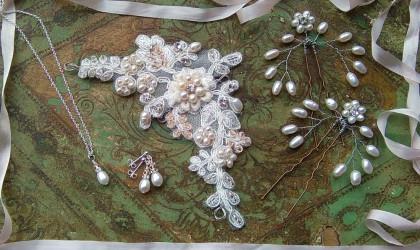 Beautiful Blush Bridal Accessories