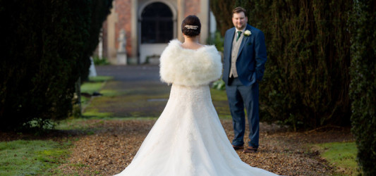 Sparkling Winter Wedding at The Albrighton Hall Hotel