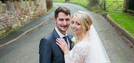Stacey and Rob's Glittering Winter Wonderland Wedding