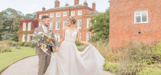 Autumn Wedding - A Styled Shoot at Delbury Hall