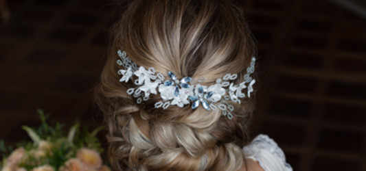 How to choose the perfect wedding headpiece