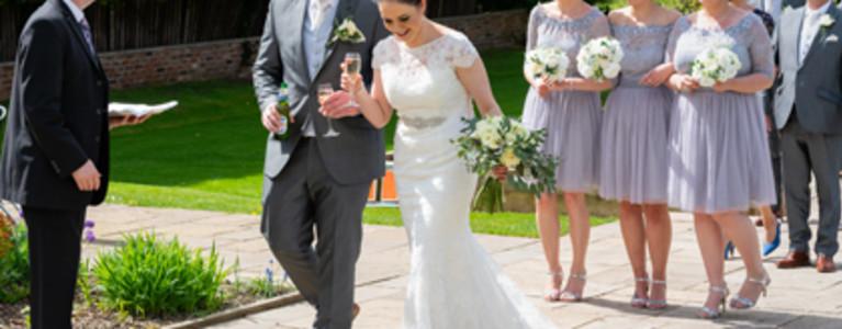 Sunny Rowton Castle Wedding
