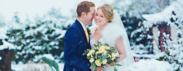 Winter Wonderland Wedding in Chester