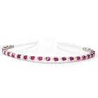 Fuchsia Headband - Stunning pink crystal headband, perfect for bridesmaids sparkle. Handmade and designed by Julieann