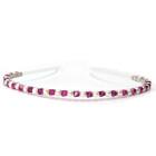 Fuchsia Headband - Stunning pink crystal headband, perfect for bridesmaids sparkle. Handmade and designed by Julieann