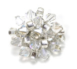 Verity Brooch - Dazzle in this vintage Style Swarovski Crystal Brooch. Designed by Julieann