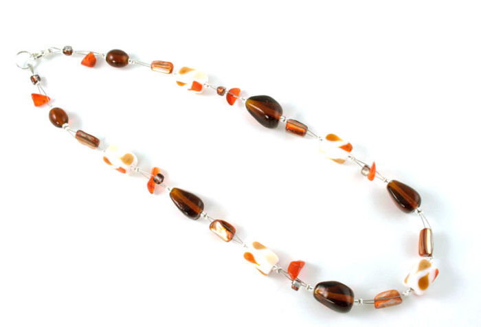 Fashion Jewellery Pumpkin Necklace
