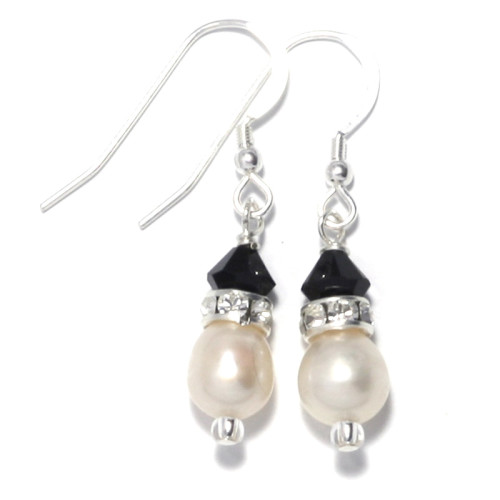 Bridesmaid Jewellery Divine Pearl Earrings