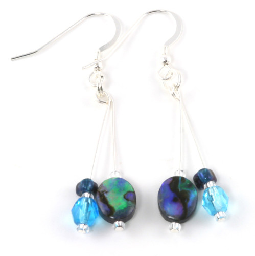 Fashion Jewellery Abalone Dainty Earrings