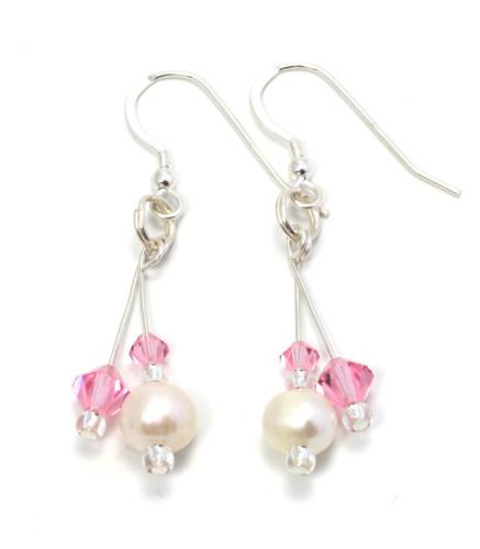 Bridesmaid Jewellery Petal Earrings