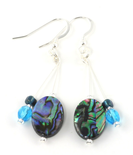 Fashion Jewellery Abalone Earrings