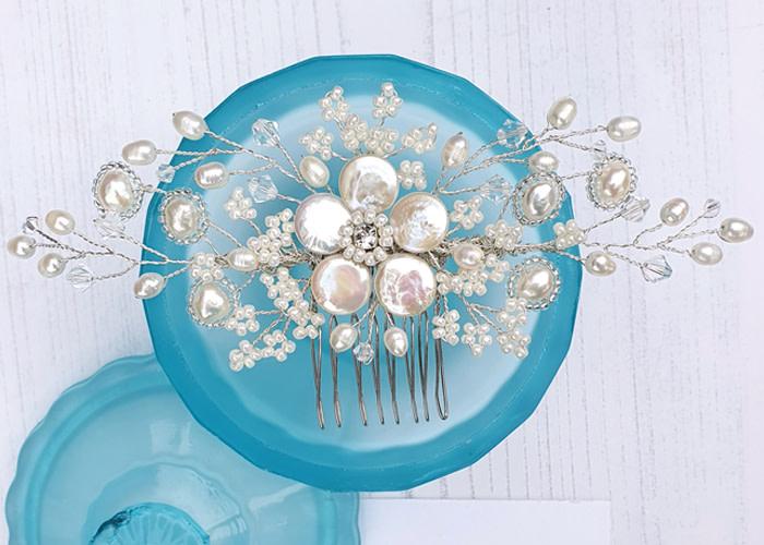 Hair Accessories Sylvie Floral Comb