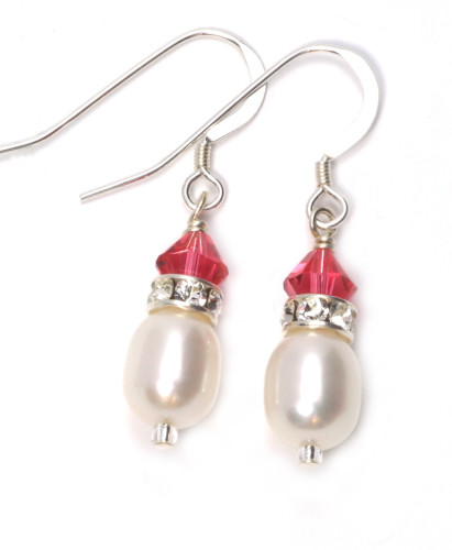 Bridesmaid Jewellery Cherry Earrings