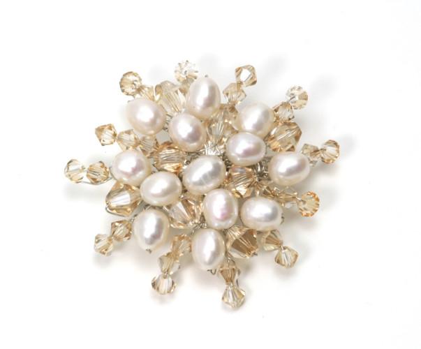 Wedding Jewellery Eternity Brooch
