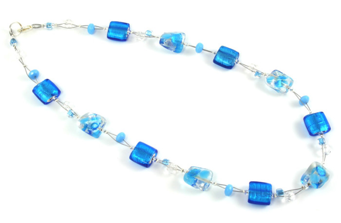 Fashion Jewellery Blue Pacific Necklace