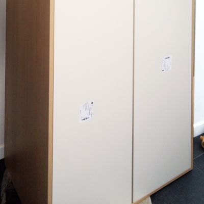 cabinet with inset doors