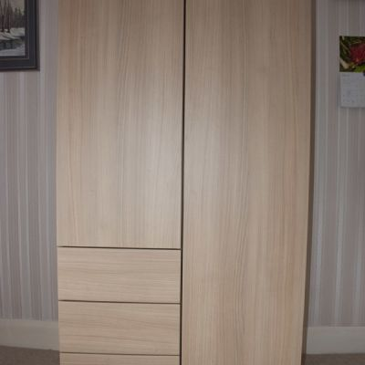 guest wardrobes with drawers