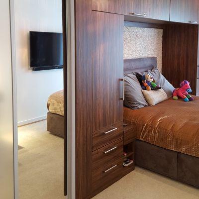 bedroom suite dark cordoba olive