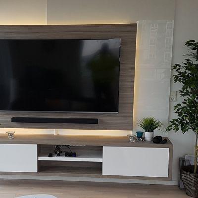 TV wall storage unit