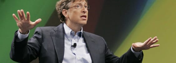 Looking for the Helpers During Economic Meltdown: Bill Gates and The Gates Foundation