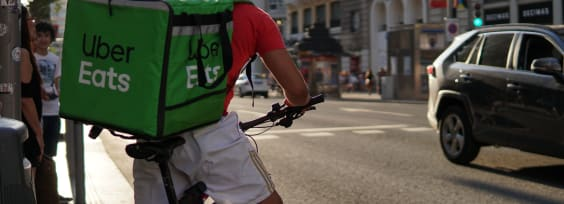 The Best of Times, the Worst of Times: Pandemic Pushes More Food Delivery, Fewer Trips for Uber