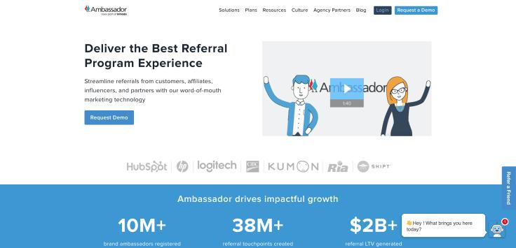 Loyalty and Referral Marketing automation platform - Ambassador