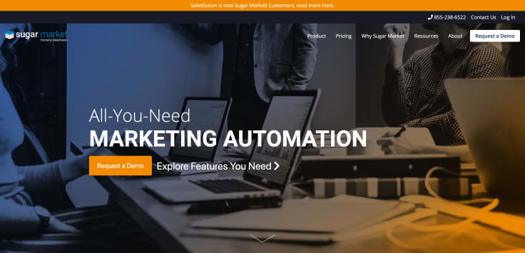 Lead management automation platforms - Salesfusion