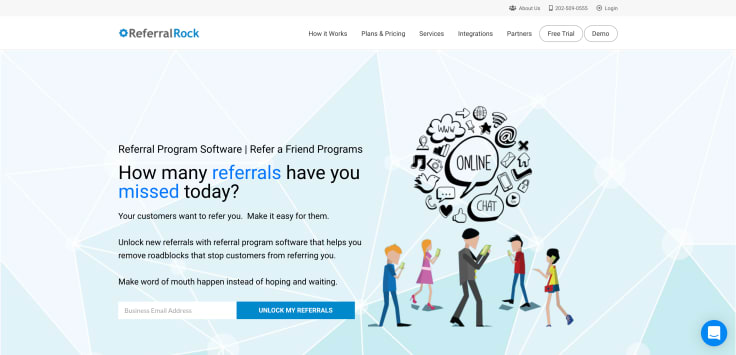 Referral Marketing automation platform - ReferralRock