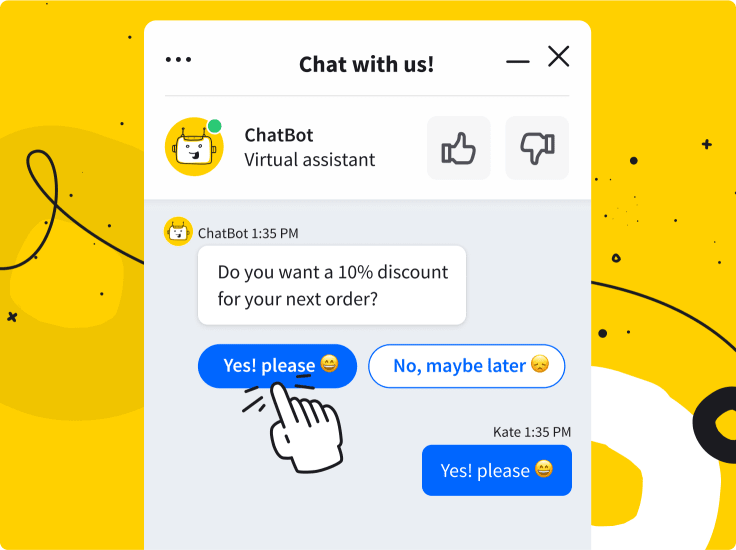 ChatBot discount