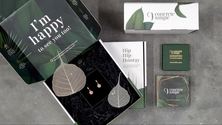 custom-branded packaging