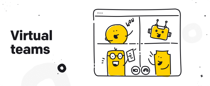 virtual teams graphic