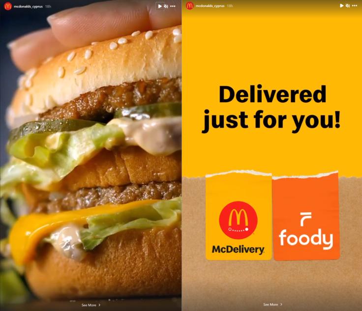 McDonald's Cyprus Instagram