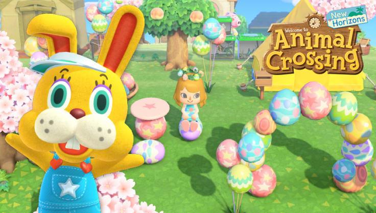 Nintendo Animal Crossing Easter