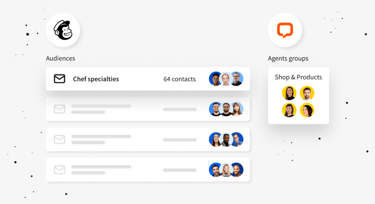 Assign your Mailchimp audiences to LiveChat groups