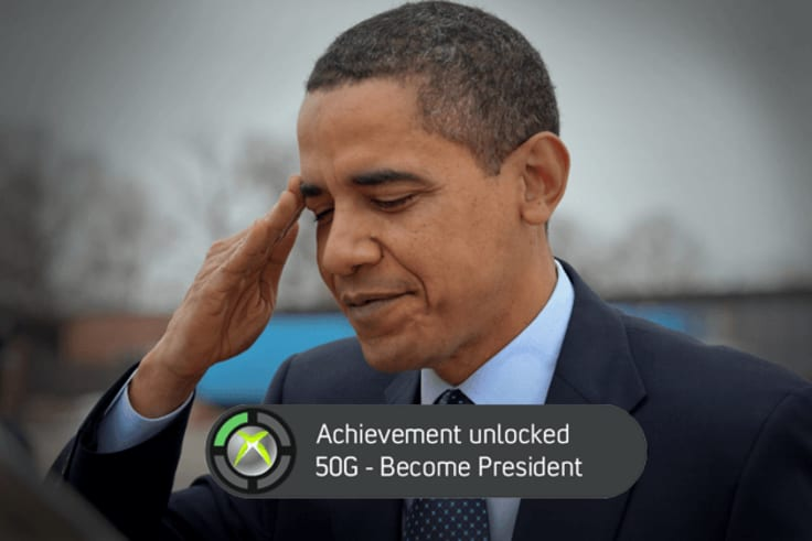 Even the president loves games