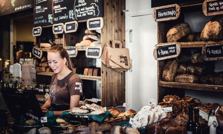 Getting personal with selling bread