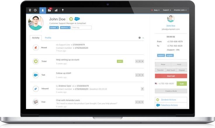 Talkdesk overview