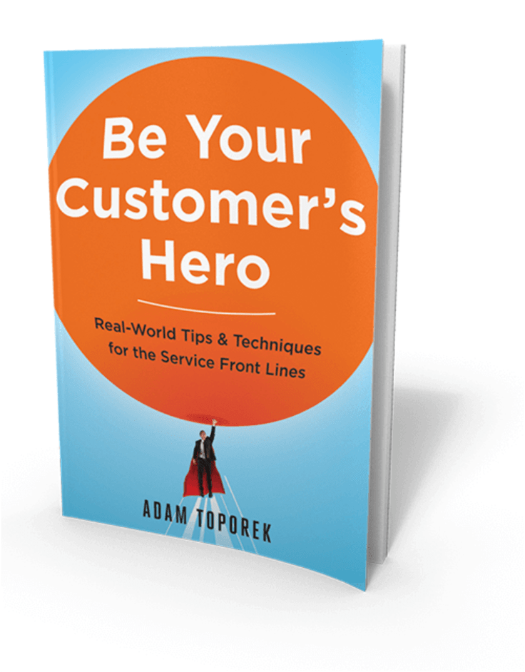Become Your Customer's Hero Book Cover