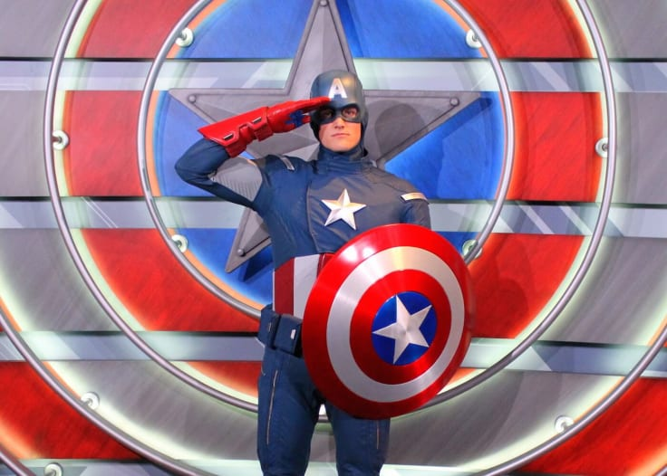 Capitan America as a Customer Hero