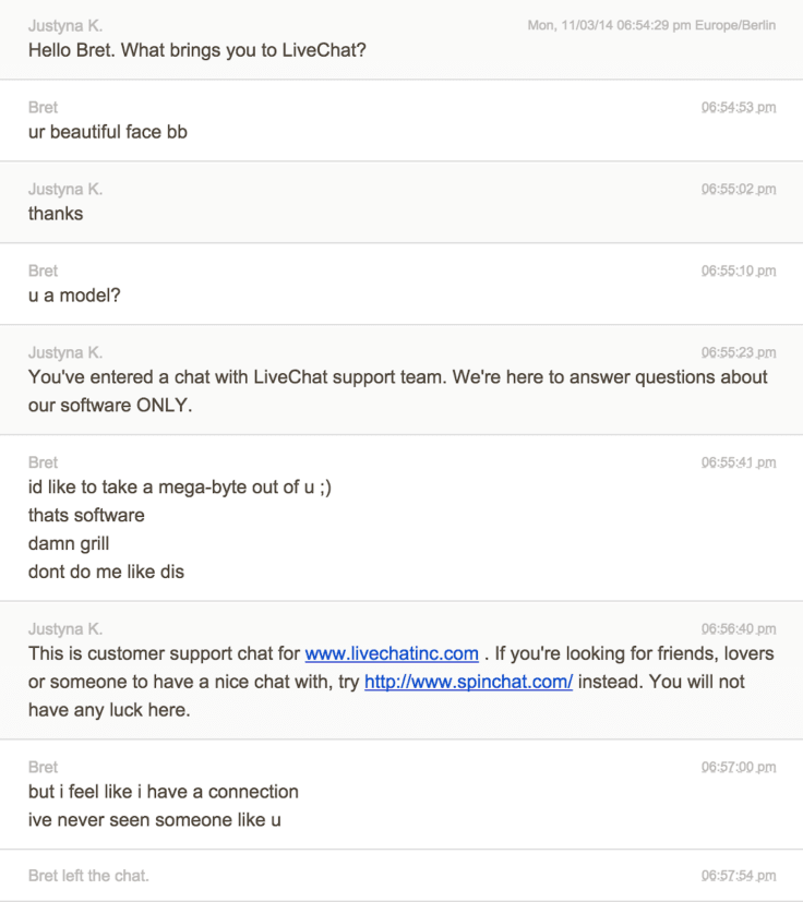 transcription chat bret