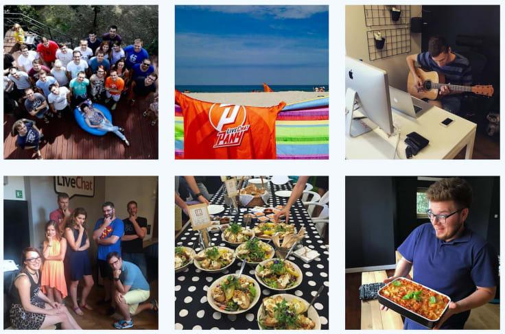 LiveChat Instagram account