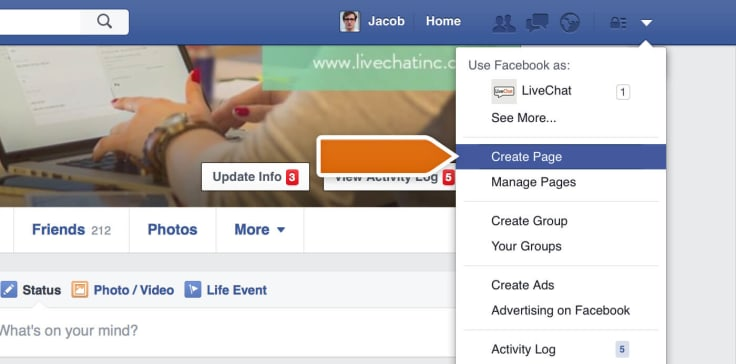 Creating a Facebook Fan Page for Business
