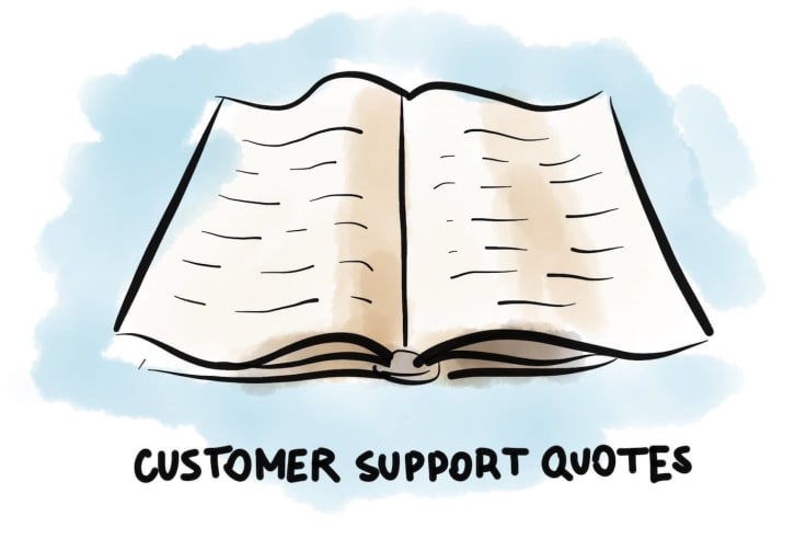 Customer support quotes