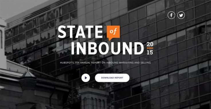 The State of Inbound 2015 Report by HubSpot