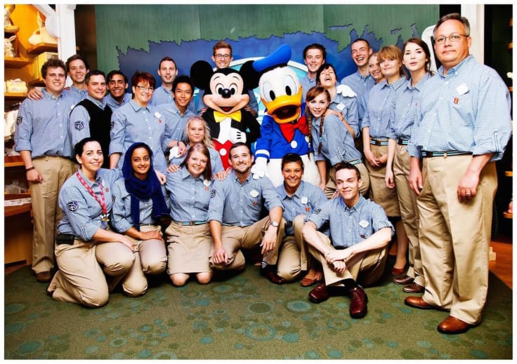Customer service team training ideas disney mickey donald