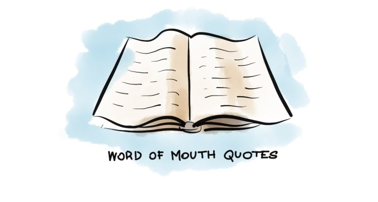 Word of Mouth Quotes