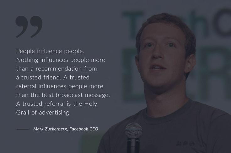Mark Zuckerberg on Word of Mouth