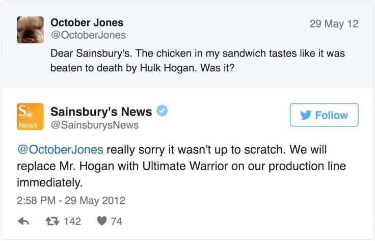 Angry Customer Tweet