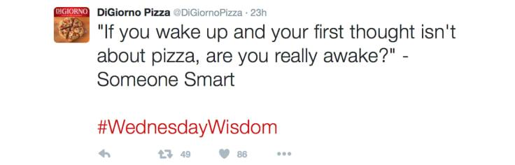 Digiorno Pizza Twitter
